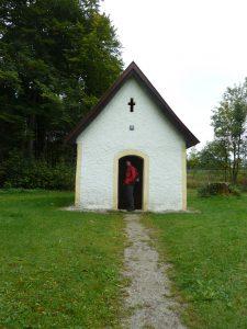 Waldkapelle am Jakobsweg